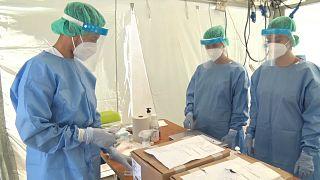 tampone covid medici
