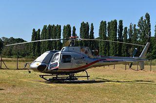 L'elicottero antincendio della protezione civile