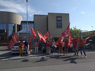 filcams-cgil bandiere