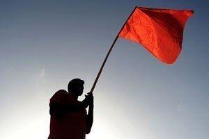 bandiere rosse quando incontri un uomo