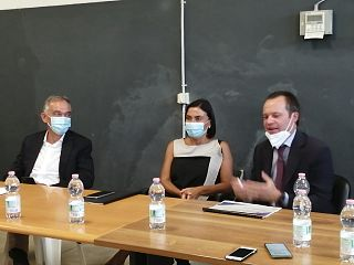 Enrico Rossi, Alessia Morani e Marco Carrai