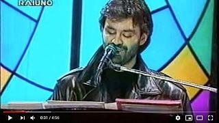 Andrea Bocelli nel 1994