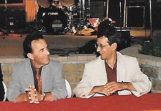 Poggi e Trifoglio in una foto di inizi anni 2000