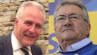 Eugenio Giani e Roberto Salvini