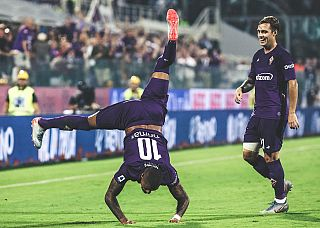Boateng esulta per il momentaneo 3-3 (foto da Fb)