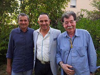 Da sinistra: Federico Eligi, Piero Iafrate e Odorico Di Stefano