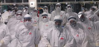 gruppo Covid rianimazione dell'Ospedale di Prato