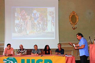 Gli organizzatori alla presentazione della gara a Casciana Terme