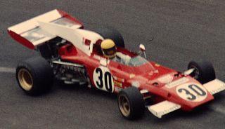 Nanni Galli sulla Ferrari di F1 nel Gp di Francia 1973