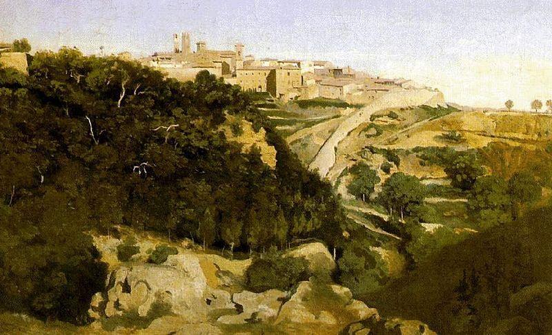 Il Colle Dipinto Da Corot Cultura Volterra