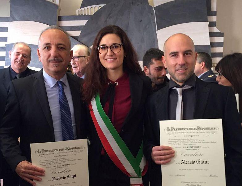 Ufficio Lavoro Pisa : Due ponsacchini nominati cavalieri attualità pisa