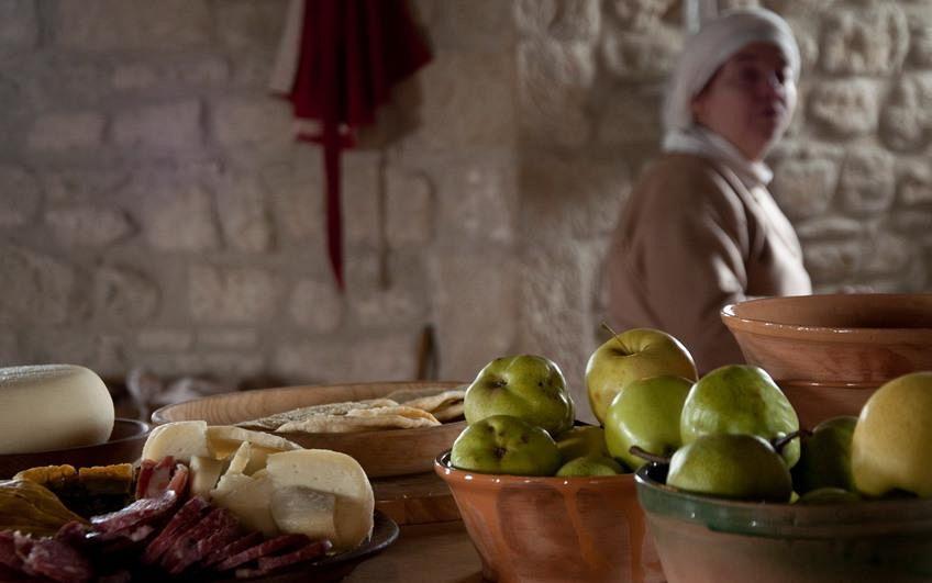 Il cibo degli antichi romani alla casa del parco for Antiche ricette romane