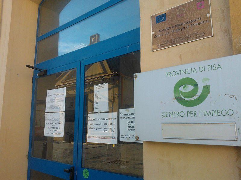 Ufficio Lavoro Pontedera : Centri per limpiego ecco quando sono aperti attualità pontedera