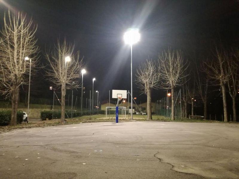 Illuminazione a led per gli impianti sportivi attualità pelago